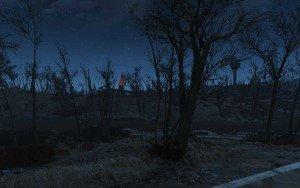 Strange Lights at Red Rocket