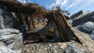 Raider Shelter on Granite Outcropping