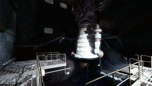 ArcJet XMB Booster Test Chamber
